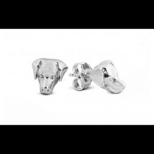Dog Fever Sterling Silver Earrings , LabradorBreed